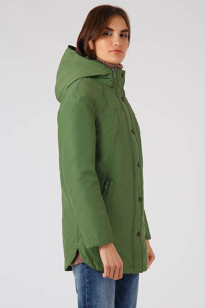Фото 11 - Куртку женская цвет бежево-желудевый
