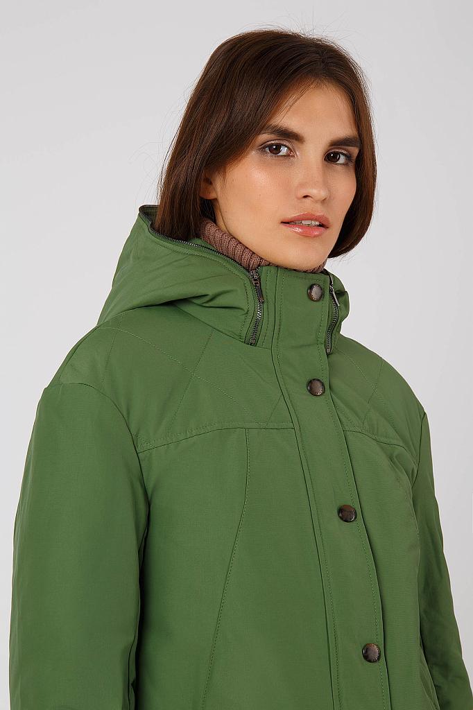 Фото 12 - Куртку женская цвет бежево-желудевый