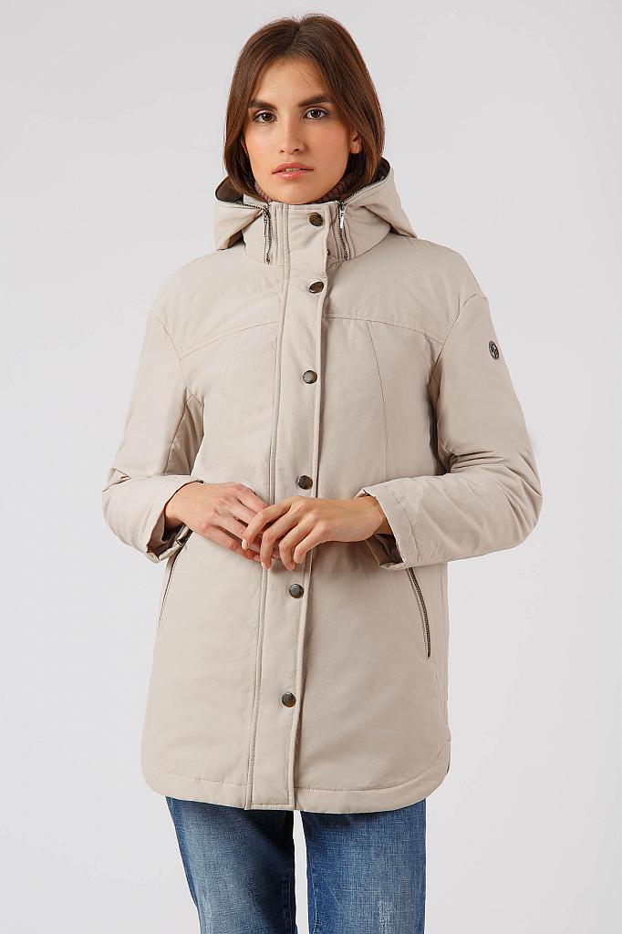 Фото 13 - Куртку женская цвет бежево-желудевый