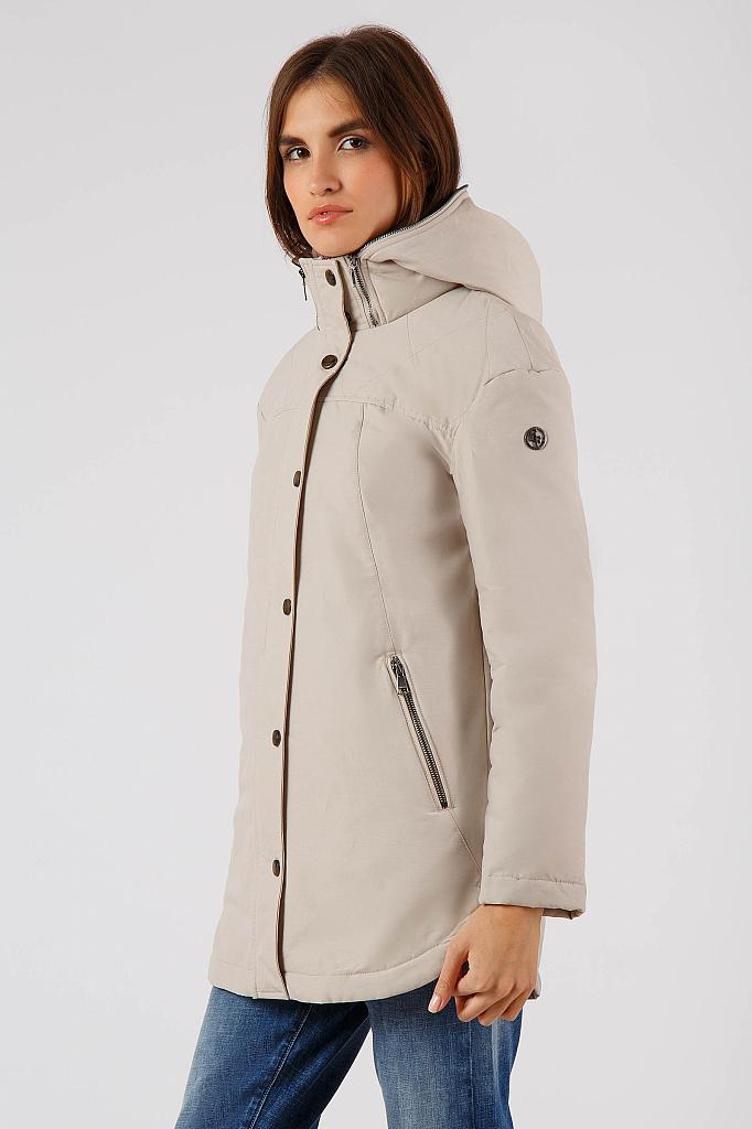 Фото 15 - Куртку женская цвет бежево-желудевый