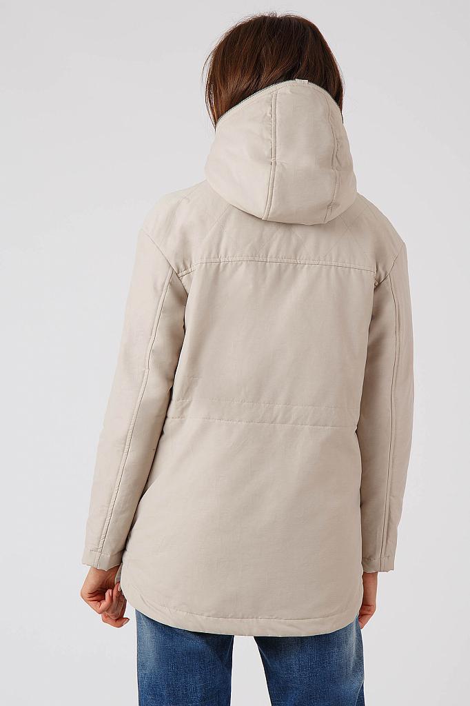 Фото 16 - Куртку женская цвет бежево-желудевый