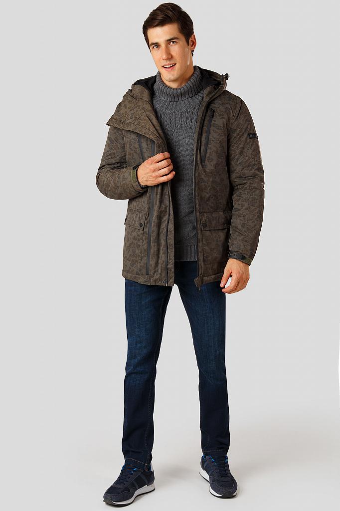 Фото 2 - Куртку мужская цвет brown