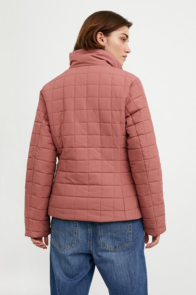 Фото 8 - Куртку женская темно-синего цвета