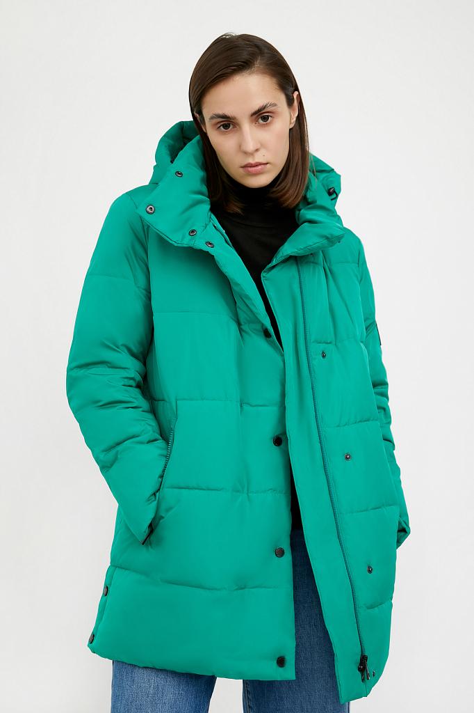 Фото 6 - Куртку женская цвет green