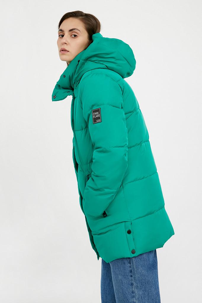 Фото 7 - Куртку женская цвет green