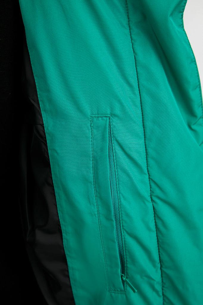 Фото 8 - Куртку женская цвет green