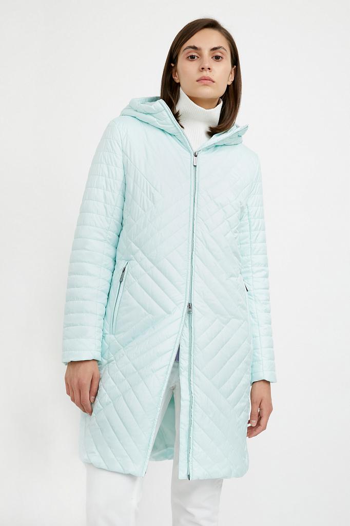 Фото 10 - Пальто женское белого цвета