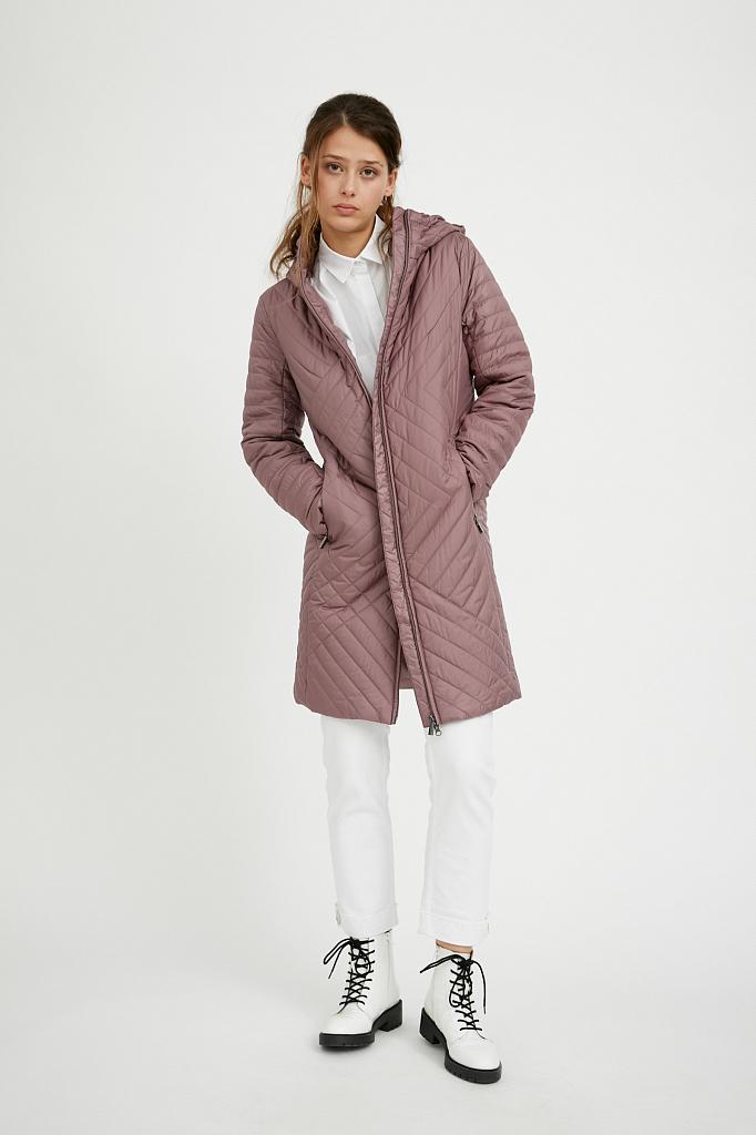 Фото 14 - Пальто женское белого цвета