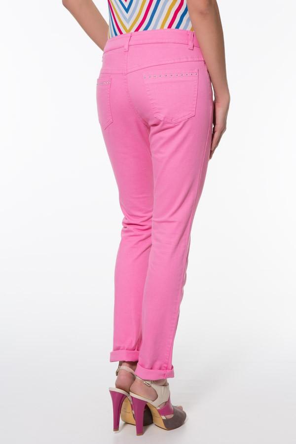 Фото 3 - Джинсы женские цвет neon pink