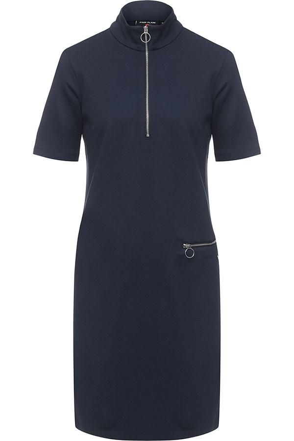 Фото 5 - Платье женское сливового цвета