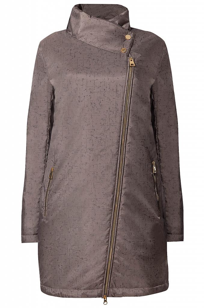 Фото 13 - Пальто женское темно-серого цвета