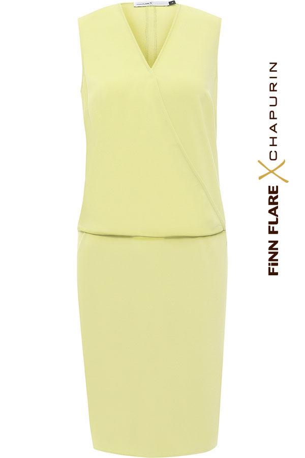 Фото 9 - Платье женское желтого цвета