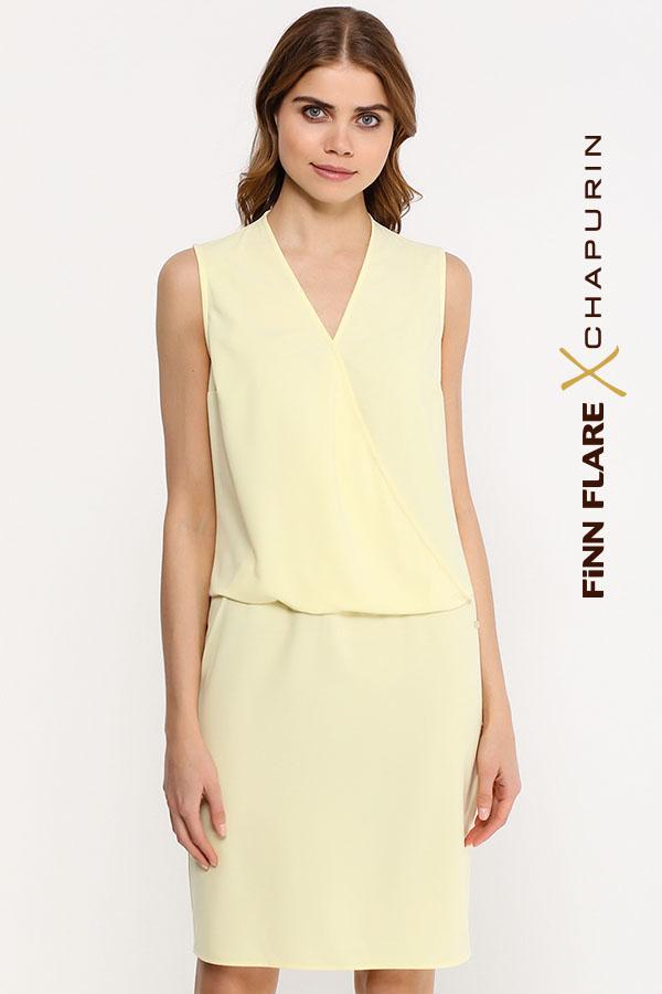 Фото 11 - Платье женское желтого цвета
