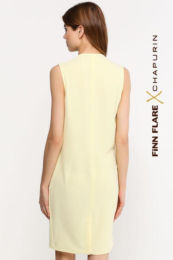 Фото 12 - Платье женское желтого цвета