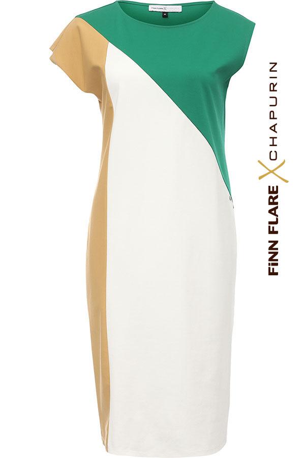 Фото 13 - Платье женское желтого цвета