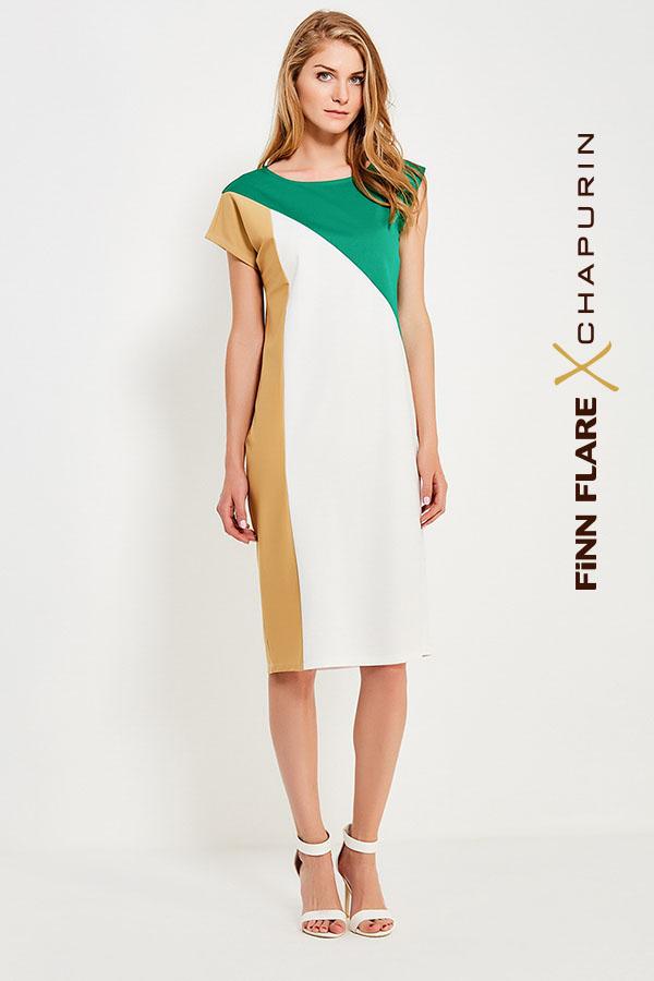 Фото 14 - Платье женское желтого цвета