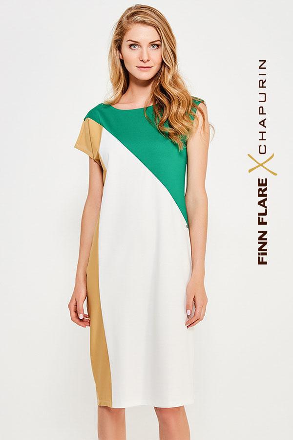 Фото 15 - Платье женское желтого цвета