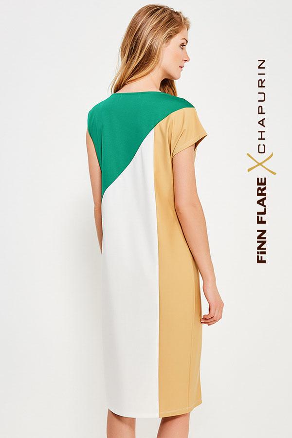 Фото 16 - Платье женское желтого цвета