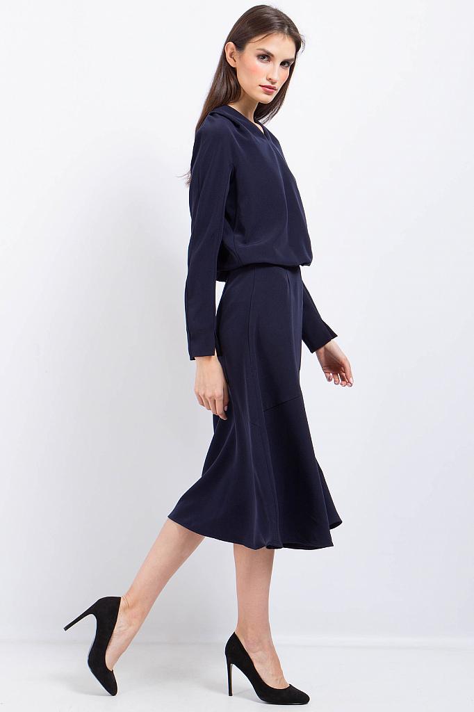 Фото 11 - Платье женское черного цвета