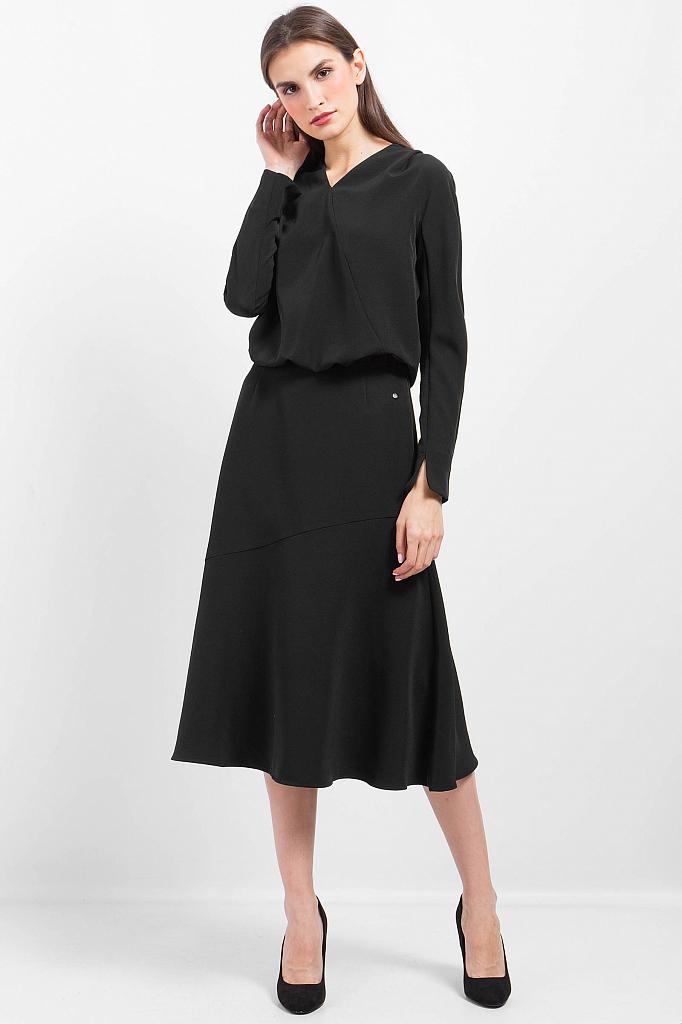 Фото 14 - Платье женское черного цвета