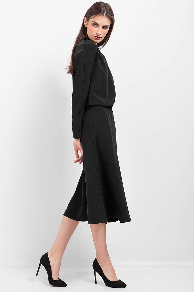 Фото 15 - Платье женское черного цвета