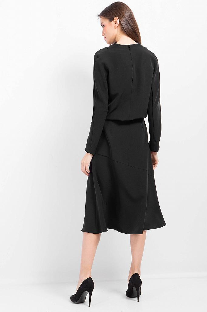 Фото 16 - Платье женское черного цвета