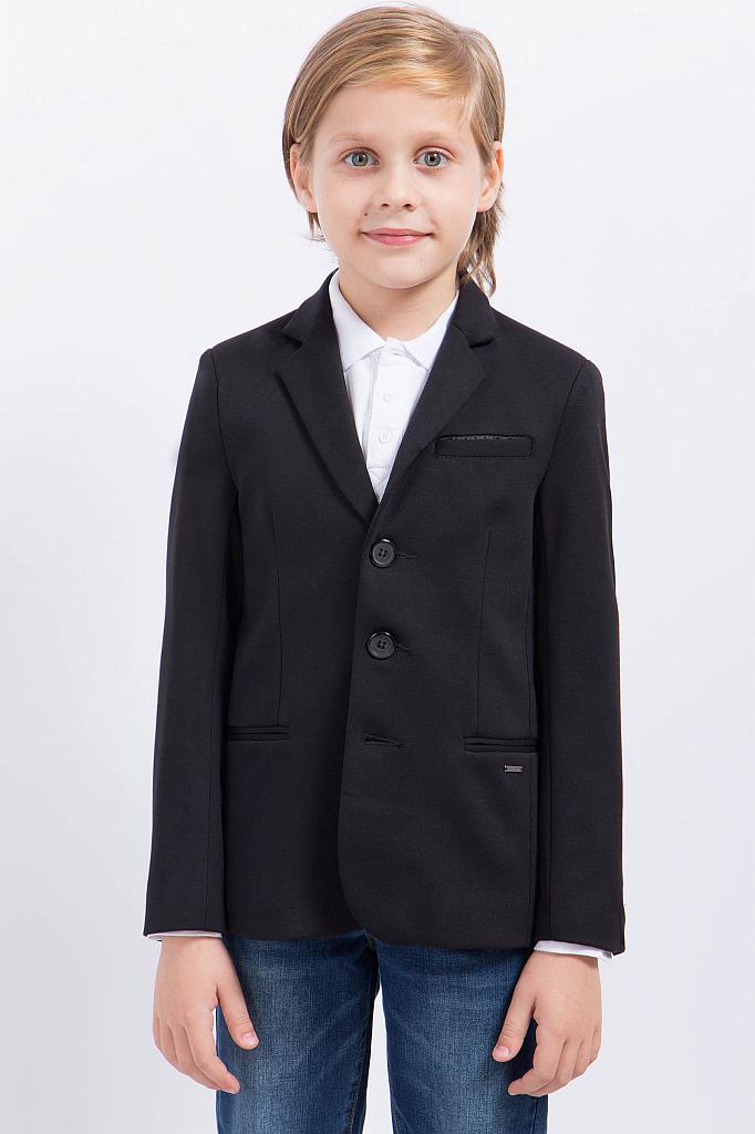 Фото 6 - Пиджак для мальчика черного цвета