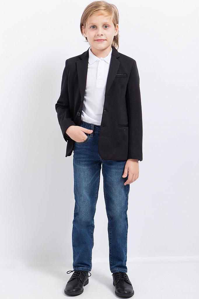 Фото 7 - Пиджак для мальчика черного цвета