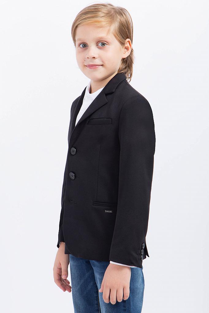 Фото 8 - Пиджак для мальчика черного цвета