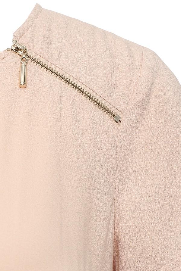 Фото 3 - Платье женское светло-розового цвета