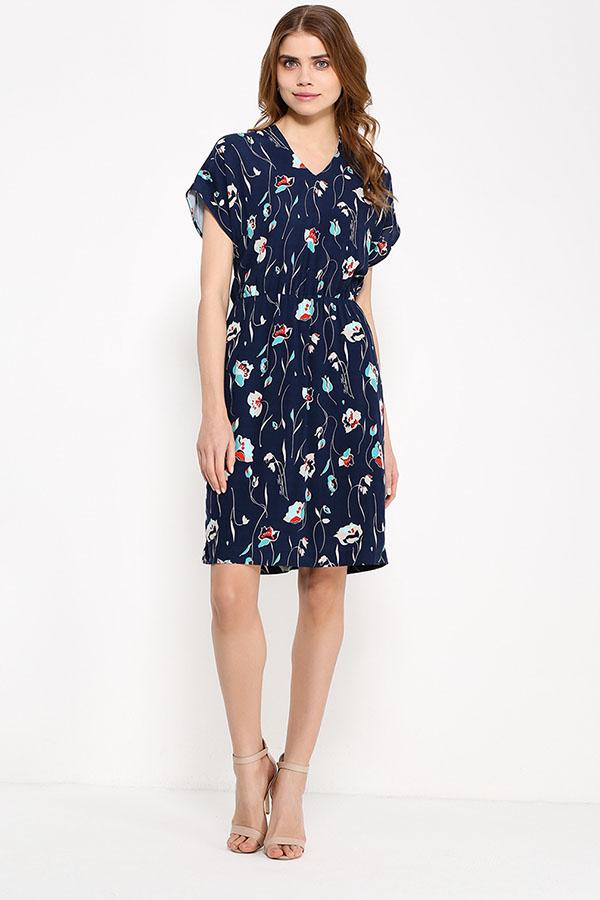Фото 2 - Платье женское светло-бежевого цвета