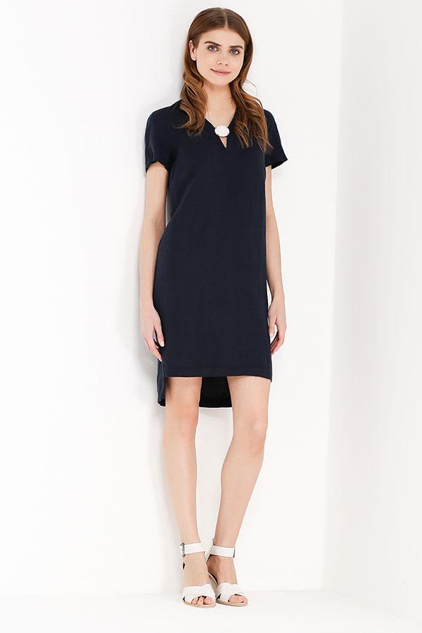 Фото 10 - Платье женское молочного цвета