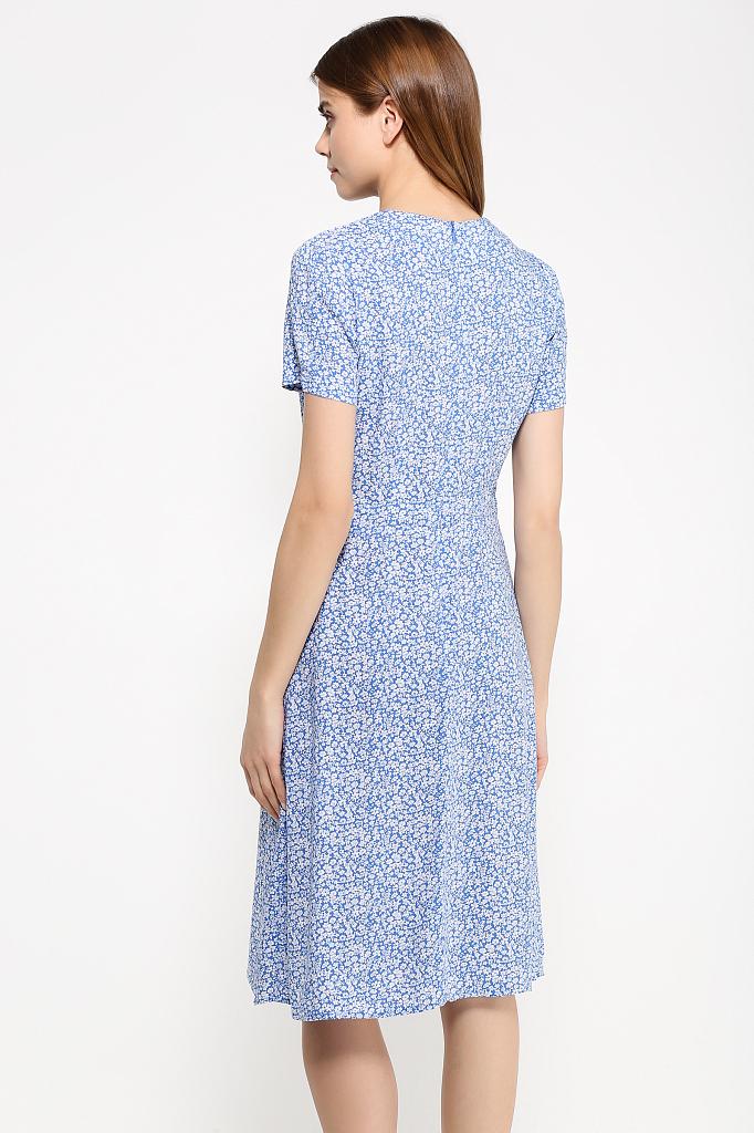 Фото 16 - Платье женское синего цвета