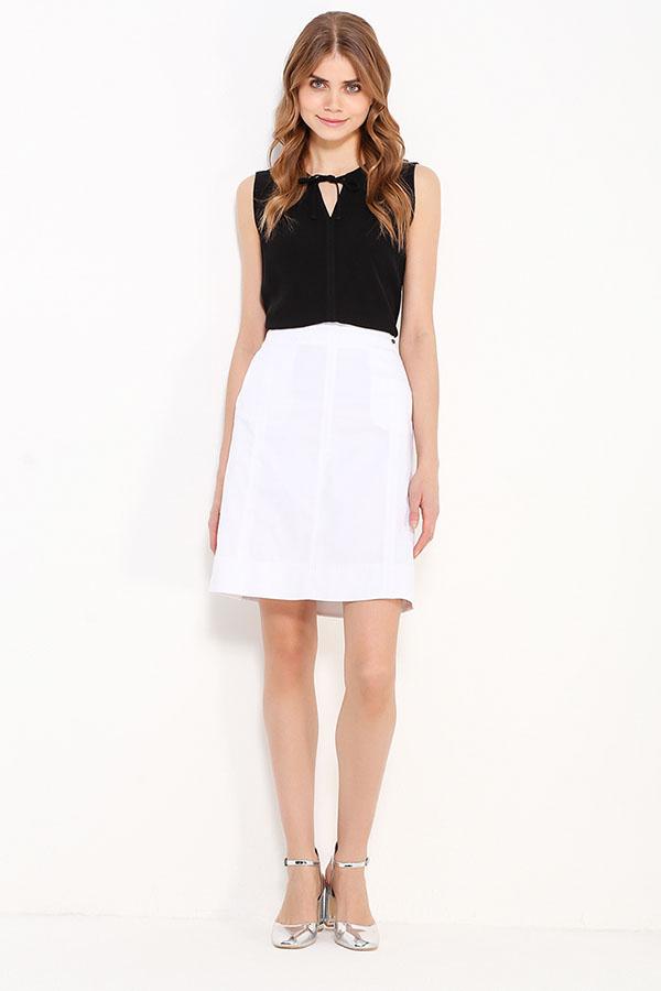 Фото 10 - Блузку женская черного цвета