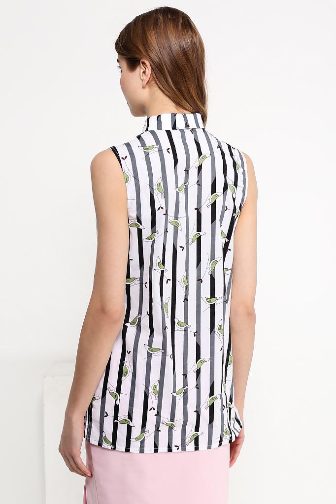 Фото 8 - Блузку женская черного цвета