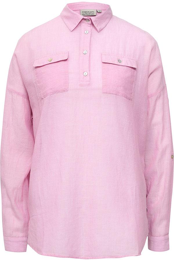 Фото 5 - Блузку женская пионово-розового цвета