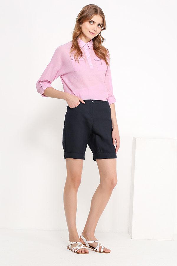 Фото 6 - Блузку женская пионово-розового цвета