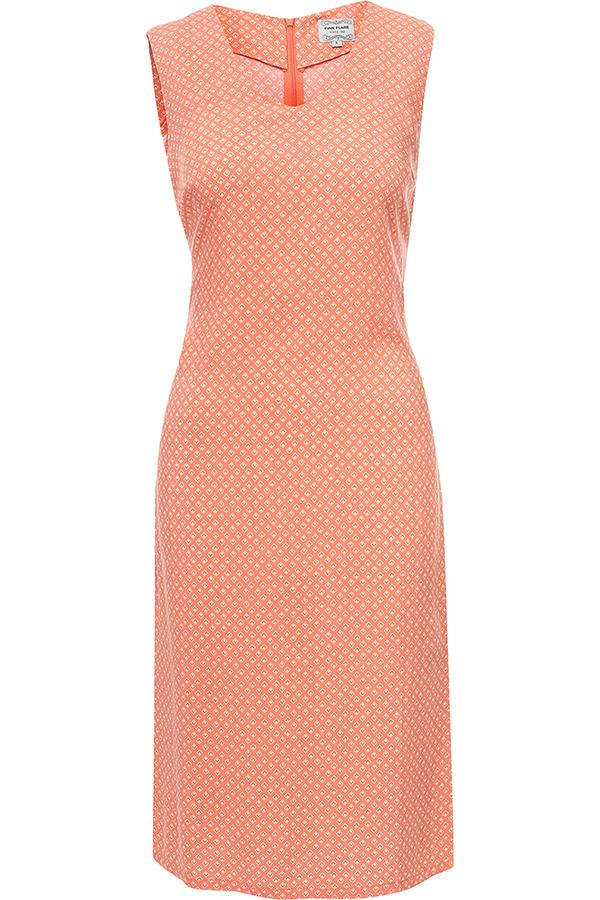 Фото 13 - Платье женское розового цвета