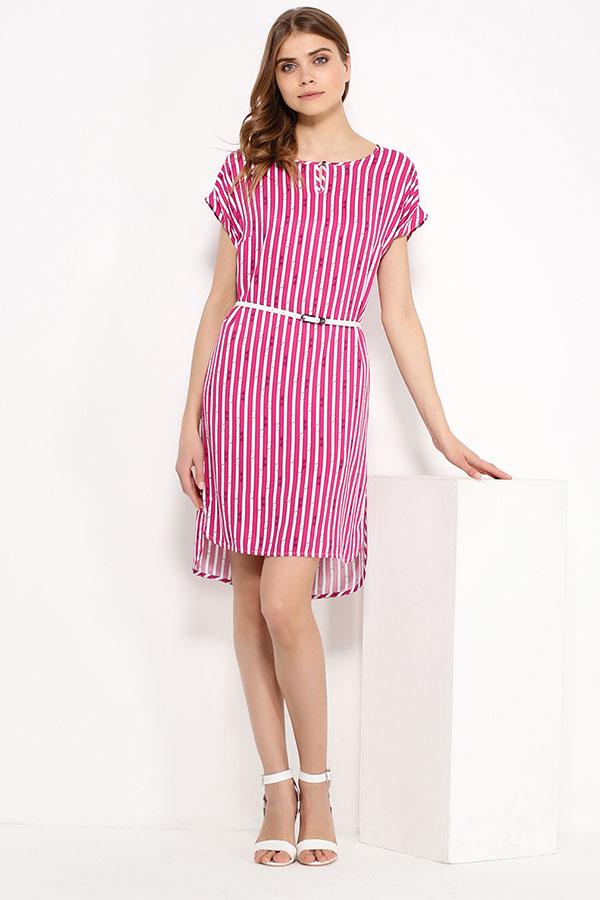 Фото 6 - Платье женское цвет светлый лимонный