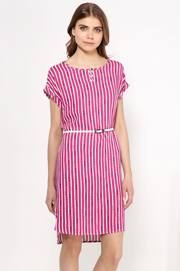 Фото 7 - Платье женское цвет светлый лимонный