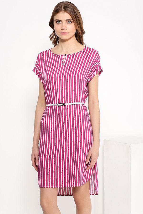 Фото 8 - Платье женское цвет светлый лимонный
