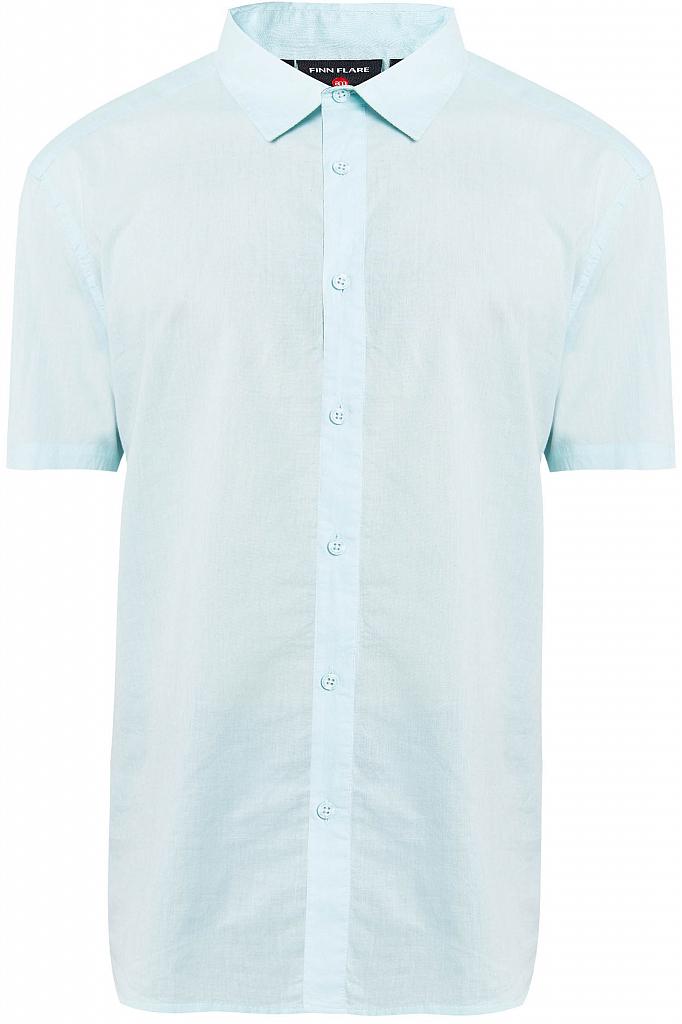 Купить Рубашку мужская светло-голубого цвета