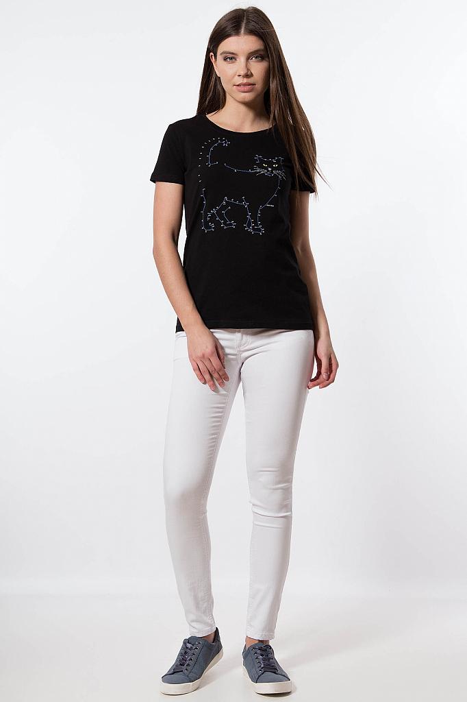 Фото 18 - Джинсы женские белого цвета
