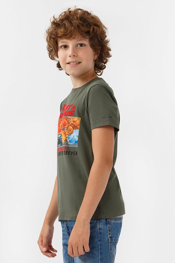 Фото 7 - Фуфайка для мальчика белого цвета
