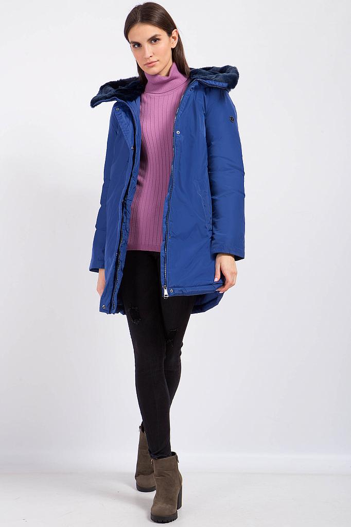 Фото 19 - Пуховик женский цвет бежево-желудевый