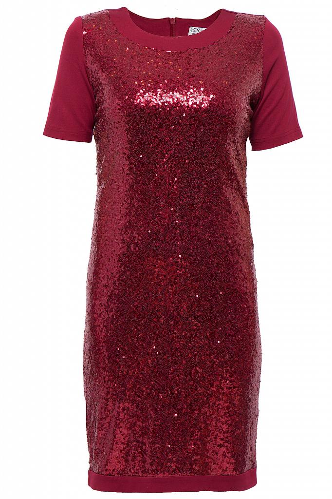 Фото - Платье женское цвет гранатовый