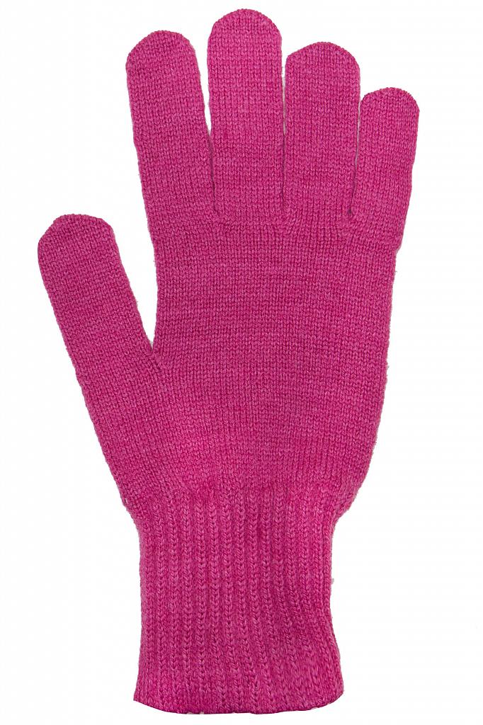 Фото 18 - Перчатки женские пионово-розового цвета