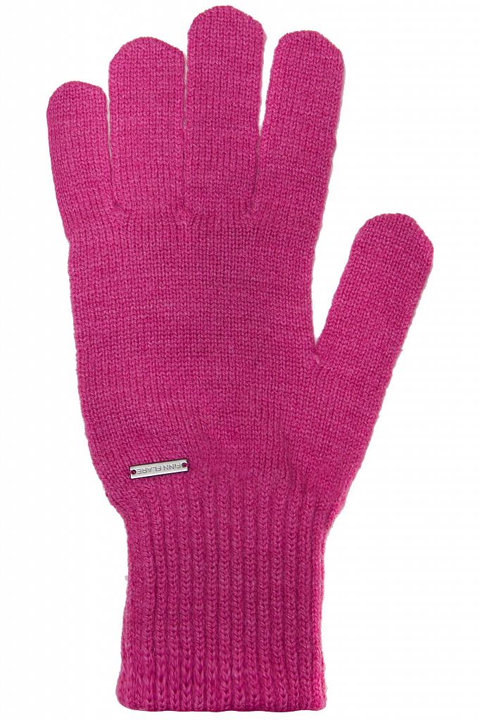Фото 19 - Перчатки женские пионово-розового цвета