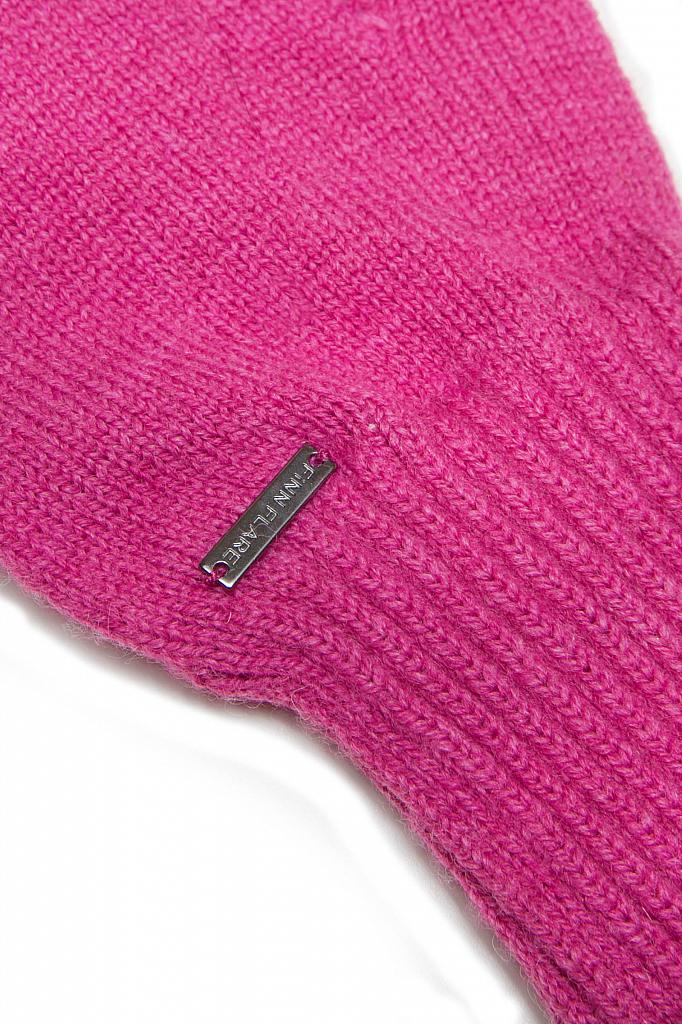 Фото 20 - Перчатки женские пионово-розового цвета