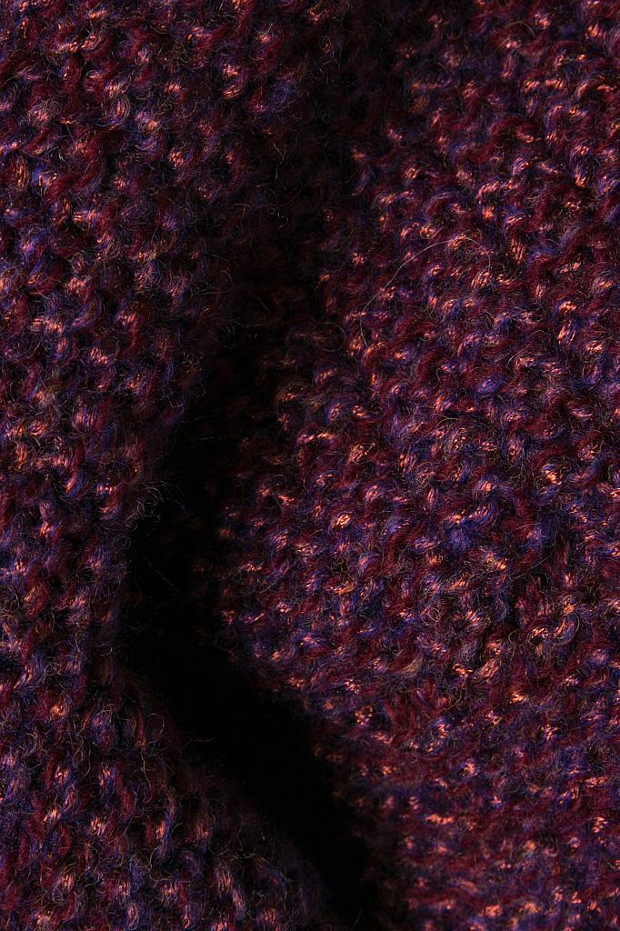 Фото 6 - Шарф женский лилового цвета